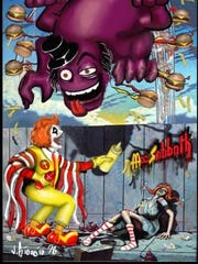 The McDonald's-themed Black Sabbath parody band Mac