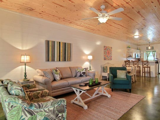This Silver Sands property is one of many beachfront properties available for rent in Port Aransas.