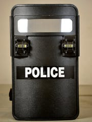 Great Falls Police Department High Risk Unit shield.