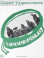 """Lemon Pipers """"Green Tambourine"""" album. From left: Ivan"""