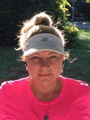 Mile 15: Tammie Bryant of Huntington Woods will be