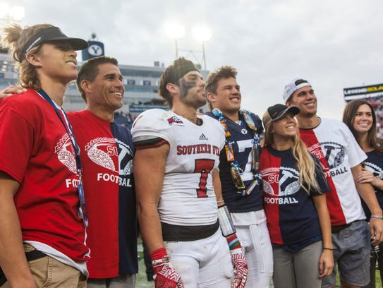 Southern Utah safety Kyle Hanneman (7) poses for a