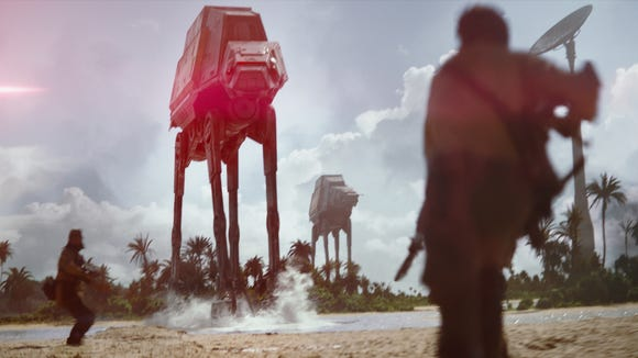 Welcome back, AT-ATs.