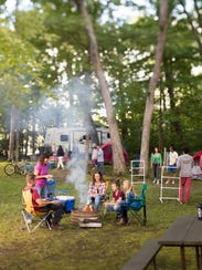The amenities at Wisconsin Dells campgrounds can make