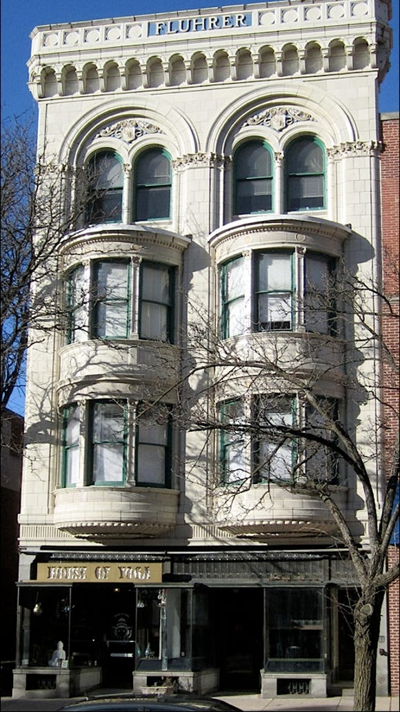 Fluhrer Building, 17 West Market Street, York, PA (2019 Photo, S. H. Smith)