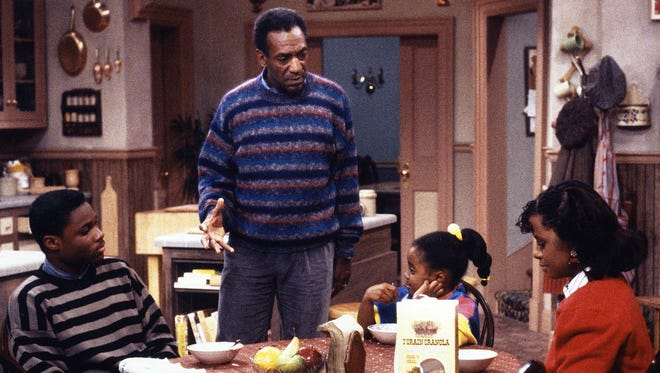 """Bill Cosby played Dr. Heathcliff Huxtable in """"The Cosby Show"""" from 1984-1992."""