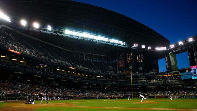 A survey released Friday morning indicates that the Arizona Diamondbacks might have a hard time winning over public opinion in their battle to get Maricopa County to pay for repairs to Chase Field.