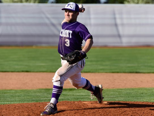 Cole Druckenmiller allowed one hit Monday in a shutout victory over Lima Senior.