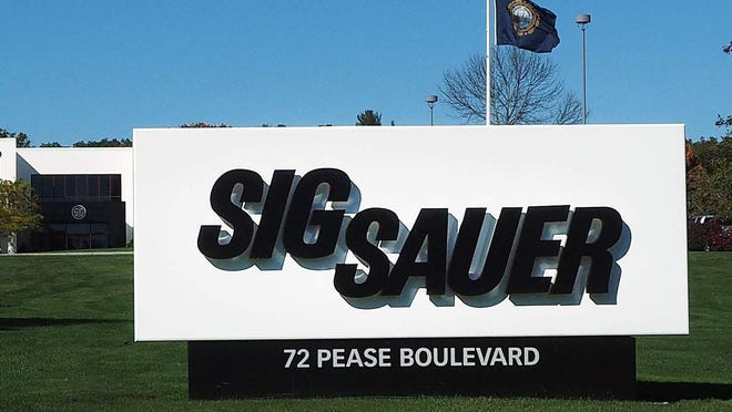 Sig Sauer, a firearms manufacturer with world headquarters in Newington, is moving its Dover operation to Rochester.