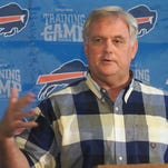 Former Buffalo Bills head coach Wade Phillips has directed the top-ranked Denver Broncos defense to a berth in the Super Bowl. Phillips is the last man to coach the Buffalo Bills in a playoff game on Jan. 8, 2000.