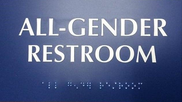 The University of Wisconsin-Stevens Point Gender Inclusive Housing Committee initiated an all-gender restroom program to include students who don't identify with a specific gender.
