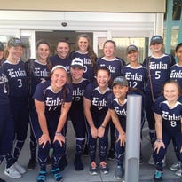 Enka's softball team.