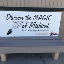 Mishicot gets revamped benches, Memorial Day parade is Monday