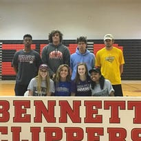 'It's been awesome': JMB athletes sign with college programs
