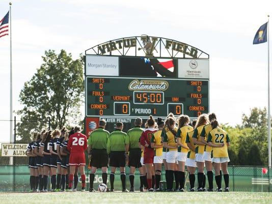 New Hmapshire vs. Vermont Women's Soccer 10/01/15
