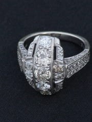 Holly McKnight's great-great-grandmother's vintage ring. Jun. 29, 2015