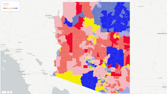 The path to winning a statewide election in Arizona still largely runs through Maricopa County, the most populous of the state's 15 counties.