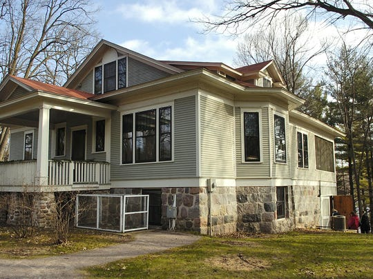 The Lindbergh home sits on the Charles A. Lindbergh Historic Site in Little Falls.