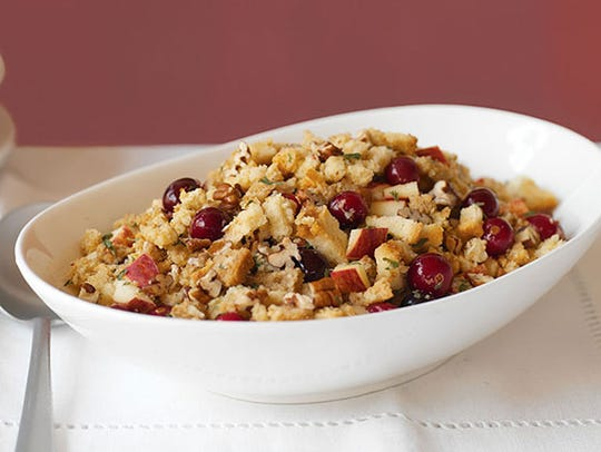 Apple, Cranberry and Pecan stuffing