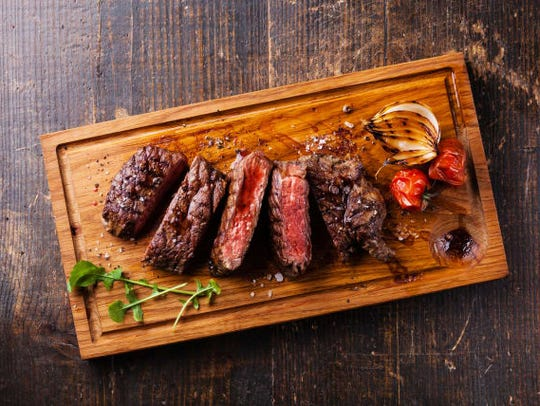Let your meat rest for 10 or more minutes before slicing