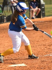 JENNA POWELL, Waynesboro, jr., 3B Powell led the Maidens at the plate, batting .515, racking up 27 RBIs off 40 hits - including five home runs. In the process, she improved her batting average from her sophomore season by nearly 120 points.