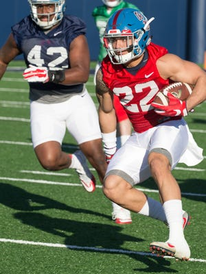 Jordan Wilkins figures to be the main option in the backfield for Ole Miss this season.