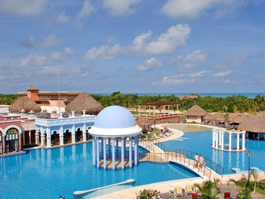Varadero, covering Cuba's narrow Hicacos Peninsula, is a popular beach resort town. Along its 20 kilometers of Atlantic Ocean coastline is a string of all-inclusive hotel and spa complexes, as well as Varadero Golf Club.