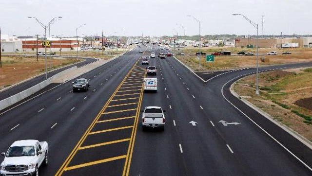 TxDOT projects in San Angelo.
