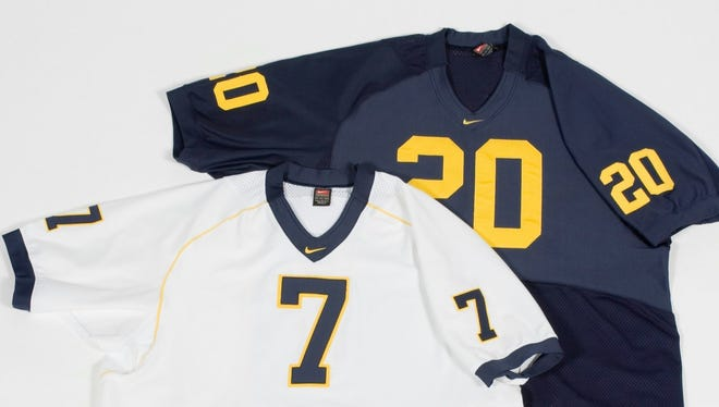 2005 Michigan football jerseys, by Nike