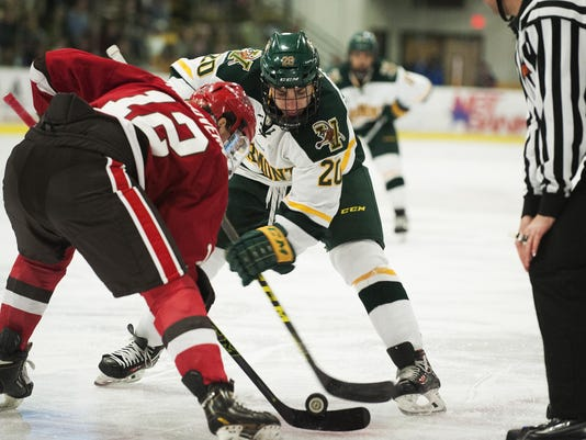 St. Lawrence vs. Vermont Men's Hockey 12/11/15