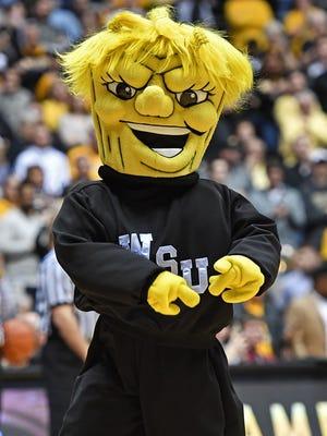 The Wichita State Shockers mascot.