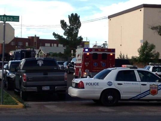 El Paso police have several streets blocked near Hueco & La Luz.