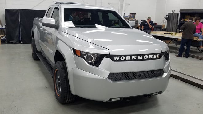 Workhorse, an Ohio company, has taken the wraps off its W-15 electric pickup