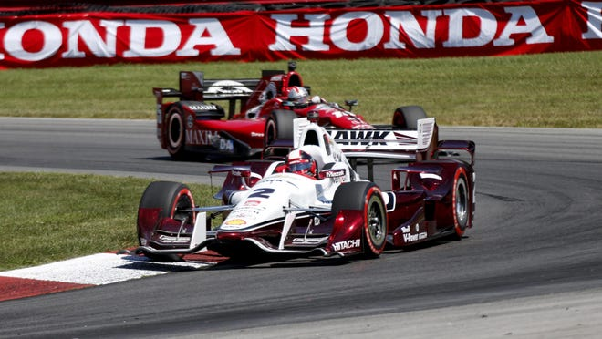 The Verizon IndyCar Series, shown above with Juan Pablo Montoya racing at Lexington, Ohio earlier this season, announced Saturday it will be returning to Road America in the 2016 season.