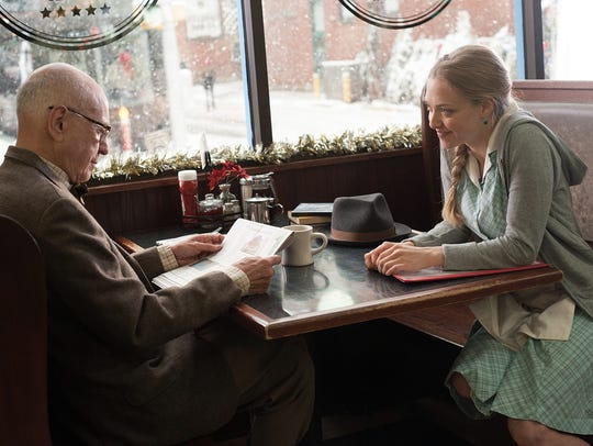 Alan Arkin and Amanda Seyfried in a scene from 'Love