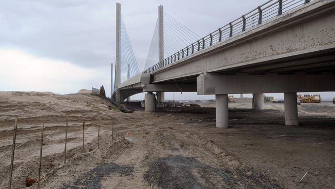 The annual inspection of the Indian River Inlet Bridge will require daytime lane and shoulder closures on Del. 1 approaching the bridge.