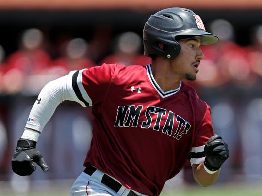 New Mexico State baseball's Nick Gonzales continues to rack up the hardware during awards season, earning Perfect Game/Rawlings First-Team All-America honors.