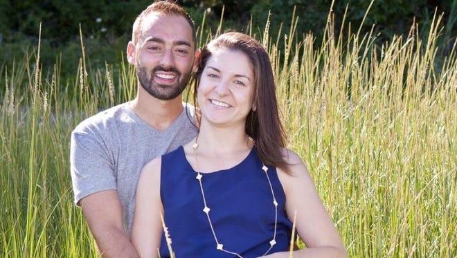 David Shapiro and Ashley Wojnar