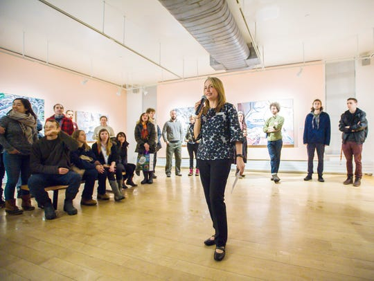 Heather Ferrell, the new Curator and director of Exhibitions