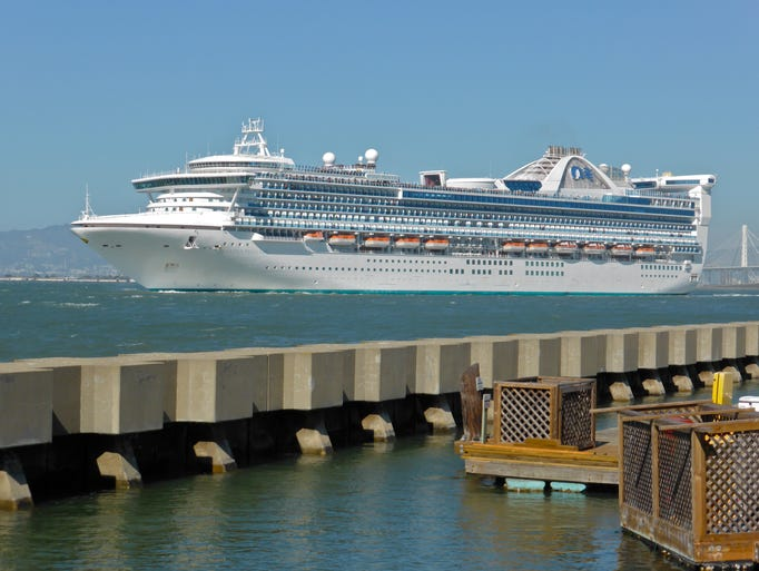 Now based out of Australia, the Golden Princess is