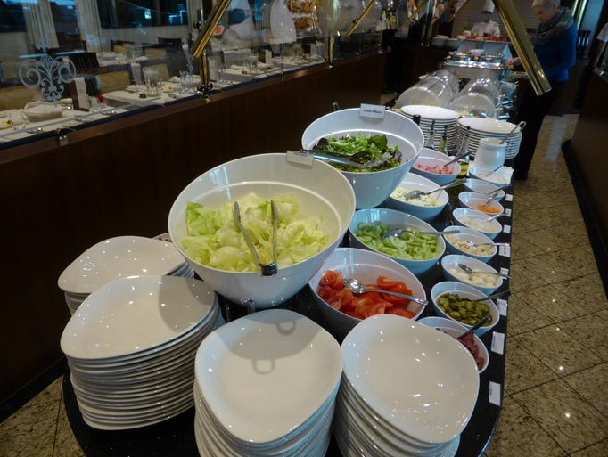 Breakfast Room Service On Tauck River Cruises