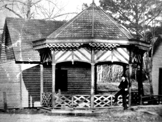 Adkins Historical Museum photo.  When this photo was