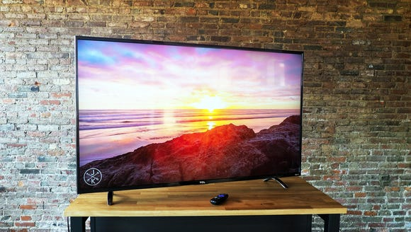 Who wouldn't want a 55-inch 4K TV for under $400?