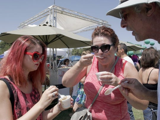 Tasting the entries is a big part of the annual Thousand Oaks Chili Cook-off and Craft Brew Festival presented by Rotary Club of Thousand Oaks.
