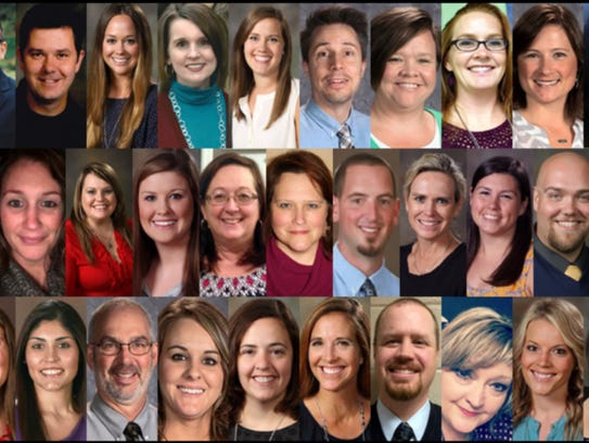 Rutherford County Schools' Teachers of the Year will