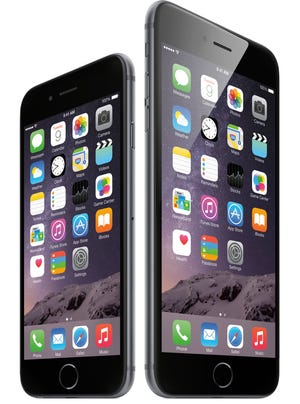 Apple's iPhone 6 and 6 Plus.
