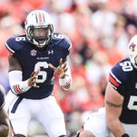 Auburn's Jeremy Johnson, who is replacing Nick Marshall at quarterback, has a strong and accurate arm and is also a threat to run the ball.