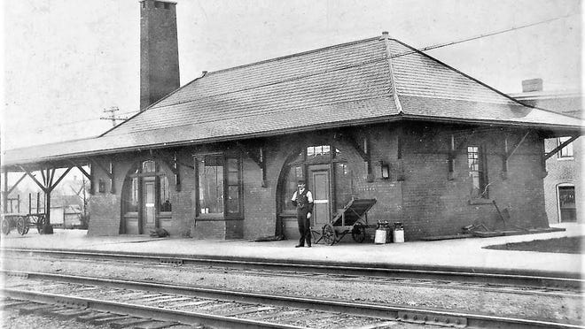 East Rochester Train Station, located on the corner of West Maple Avenue and North Main Street.