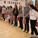 Churchill's 2007 volleyball champions honored