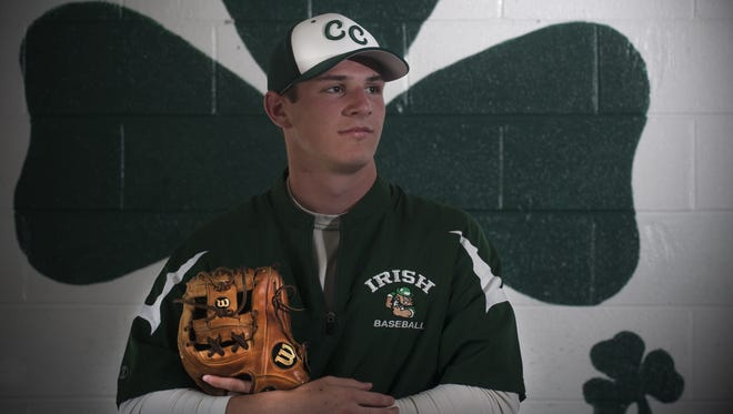 A three-year player, Nolan Gerold is the starting shortstop for Camden Catholic.